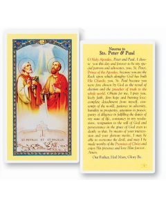 Novena To Sts. Peter and Paul Holy Card