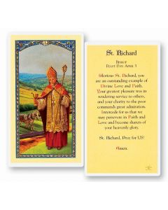 St. Richard Holy Card
