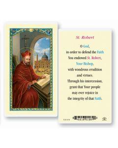 St. Robert Holy Card