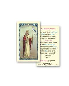 St. Ursula Holy Card