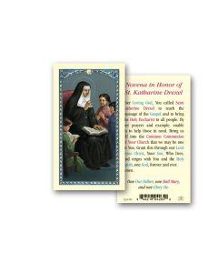 St. Katharine Drexel Holy Card