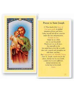 St. Joseph Holy Card