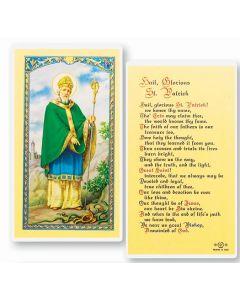 Hail Glorious, St. Patrick Holy Card
