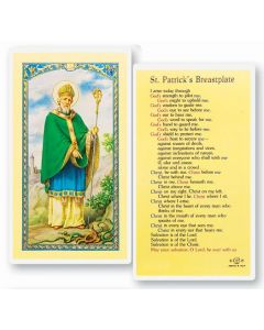 St. Patrick, Breastplate, Holy Card