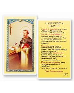St. Thomas Holy Card