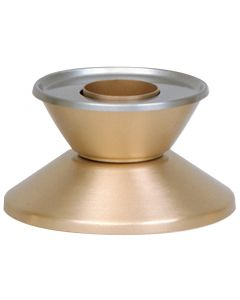 "Candlestick, bronze, satin, 1 1/2"" socket"