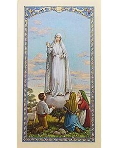 Novena A Ntra. Sra. de Fatima