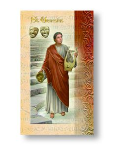 St. Genesius Mini Biography