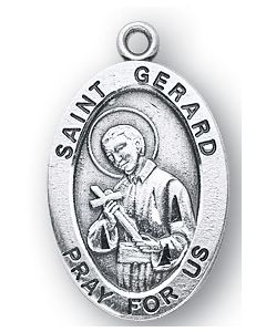 St. Gerard SS medal oval