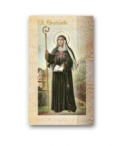 St. Gertrude Mini Biography