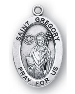 St. Gregory SS medal oval