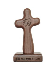5″ Eucharist Hand Cross with Magnetic Base