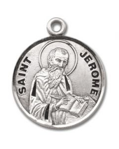 St. Jerome SS medal round