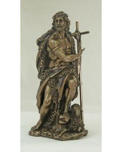 "St. John the Baptist Statue, 9.5"""