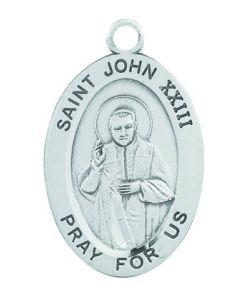 St. John XXIII SS medal oval