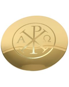 Paten with Alpha Omega