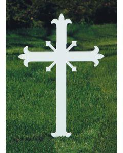 Memorial Cross Fleur-de-lis