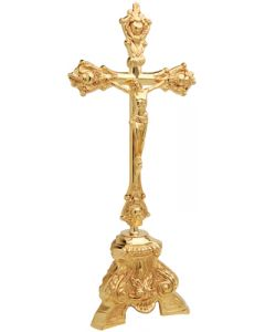 """Altar Crucifix, 17-1/2"""""""
