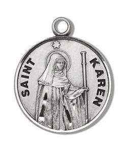 St. Karen SS medal round