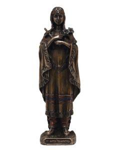 "St. Kateri Tekakwitha statue, 5.5"""