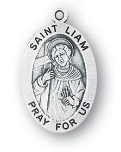 St. Liam SS medal oval