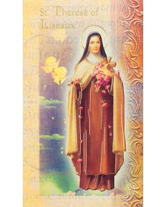 St. Theresa of Lisieux Mini Biography