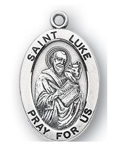 St. Luke SS medal oval