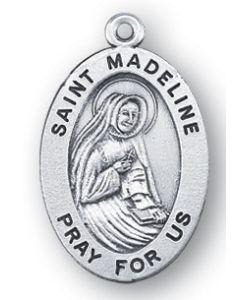 St. Madeline SS medal oval