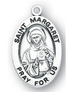St. Margaret SS medal oval