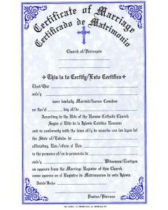 Certificate of Marriage Bilingual