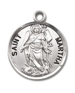 St. Martha SS medal round