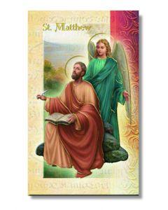 St. Matthew Mini Biography