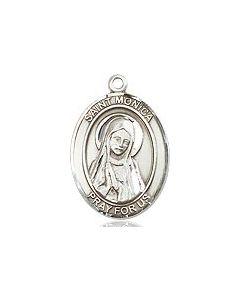 """St. Monica SS 18"""" chain"""