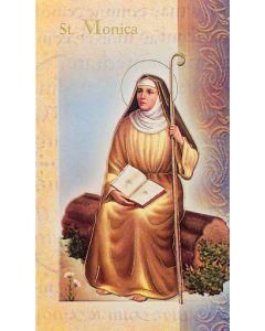 St. Monica Mini Biography