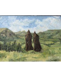 Mystic Monk Print