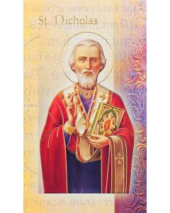 St. Nicholas Mini Biography
