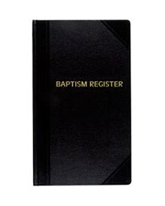 Baptismal Record Book