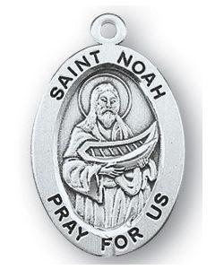 St. Noah SS medal oval