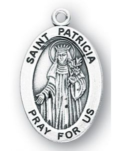 St. Patricia SS medal oval