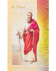 St. Paul the Apostle Mini Biography