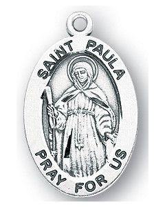 St. Paula SS medal oval
