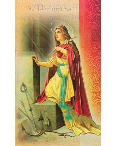 St. Philomena Mini Biography