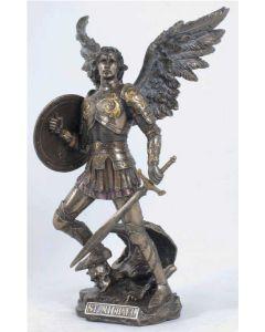 Archangel Michael, Cold-Cast Bronze Statue