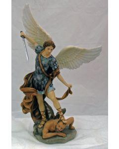 St. Michael Statue Color Resin
