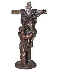 Crucifixion of Christ with St. Francis
