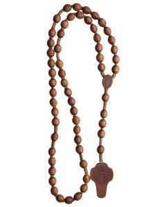 Jujube Wood St. Benedict Rosary