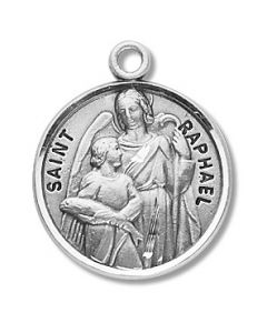 St. Raphael SS medal round