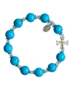 Turquoise Rosary Bracelet