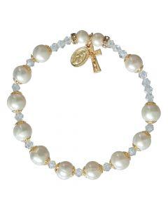 Pearl - Rosary Bracelet