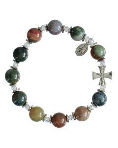 Multi Onyx - Rosary Bracelet